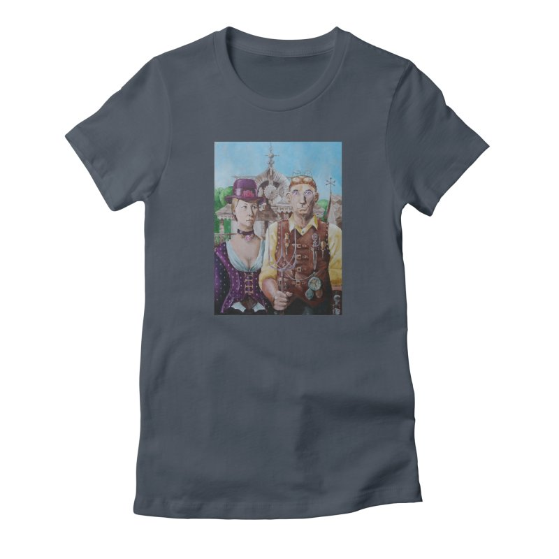 American Steampunk Women's French Terry Zip-Up Hoody by Yodagoddess' Artist Shop