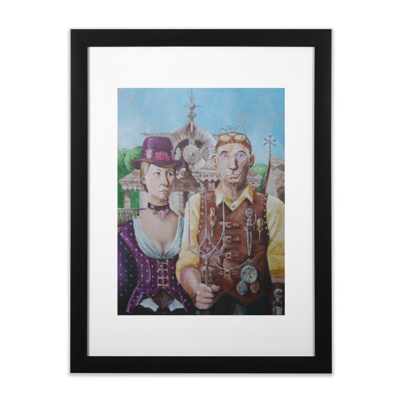 American Steampunk Home Framed Fine Art Print by Yodagoddess' Artist Shop