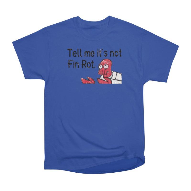 Not Fin Rot Women's Heavyweight Unisex T-Shirt by Yodagoddess' Artist Shop