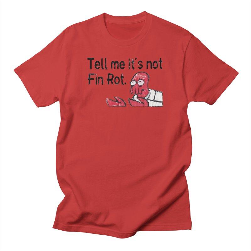 Not Fin Rot Men's Regular T-Shirt by Yodagoddess' Artist Shop