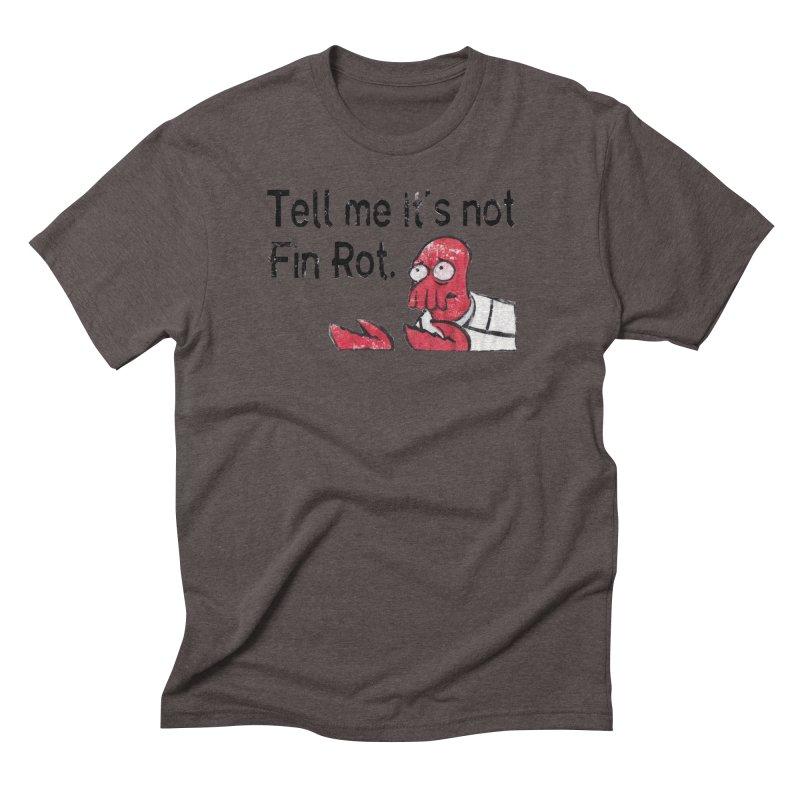 Not Fin Rot Men's Triblend T-Shirt by Yodagoddess' Artist Shop