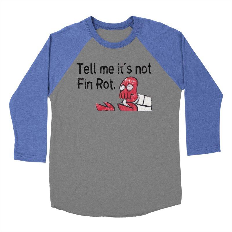 Not Fin Rot Men's Baseball Triblend T-Shirt by Yodagoddess' Artist Shop