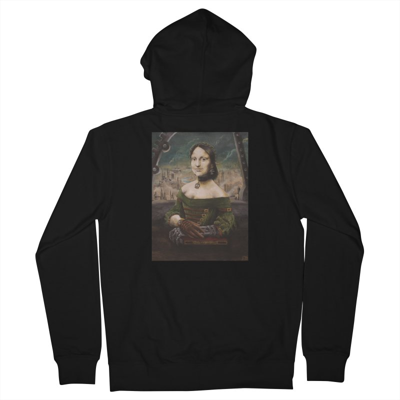 Skycaptain Mona Men's Zip-Up Hoody by Yodagoddess' Artist Shop
