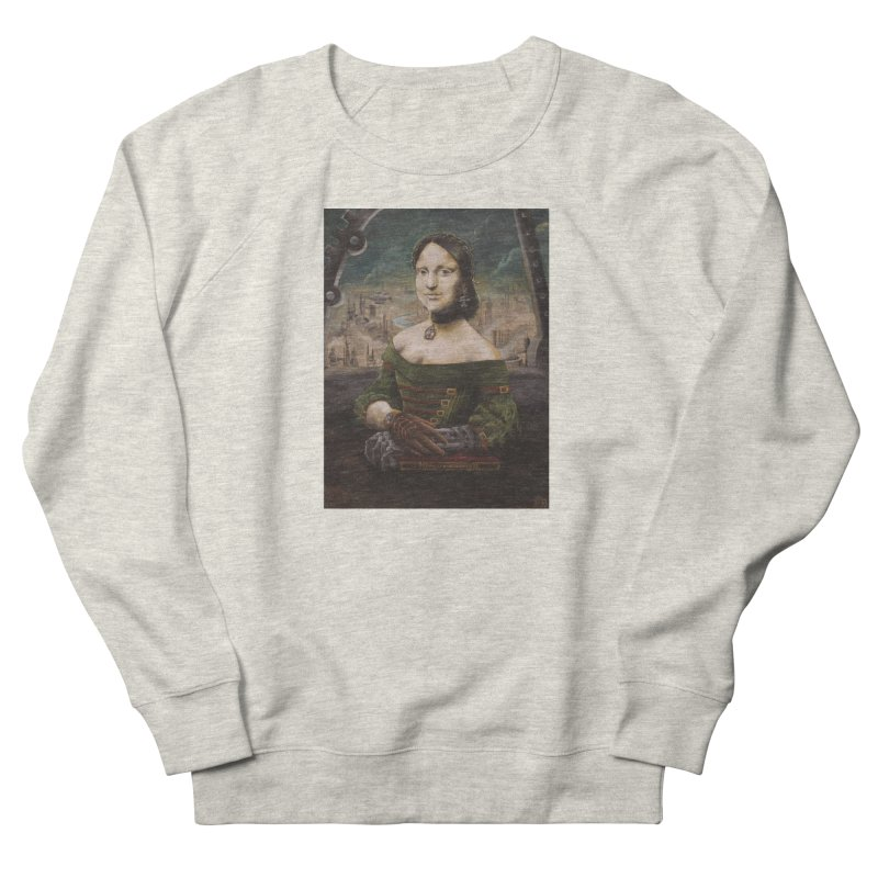 Skycaptain Mona Women's French Terry Sweatshirt by Yodagoddess' Artist Shop