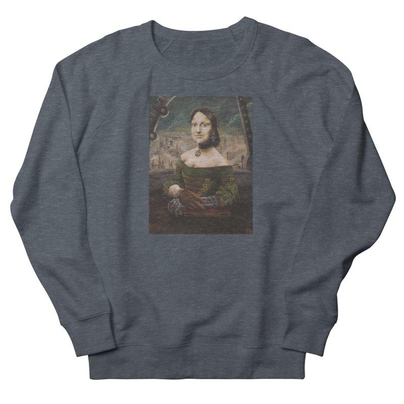 Skycaptain Mona Men's French Terry Sweatshirt by Yodagoddess' Artist Shop