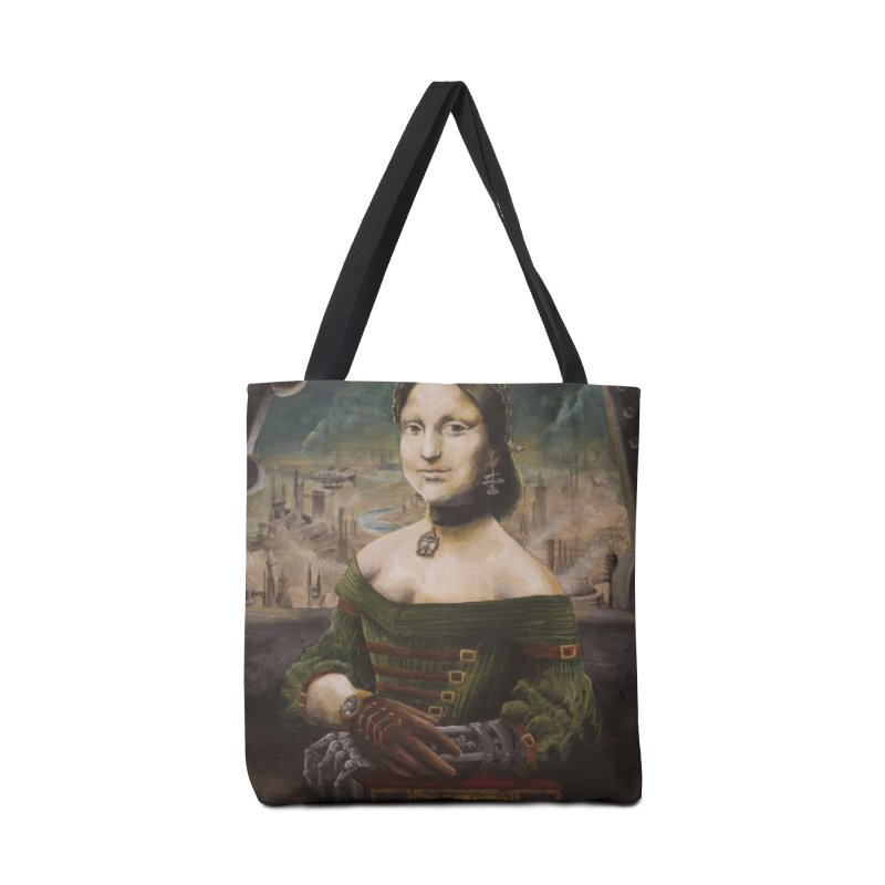 Skycaptain Mona Accessories Bag by Yodagoddess' Artist Shop