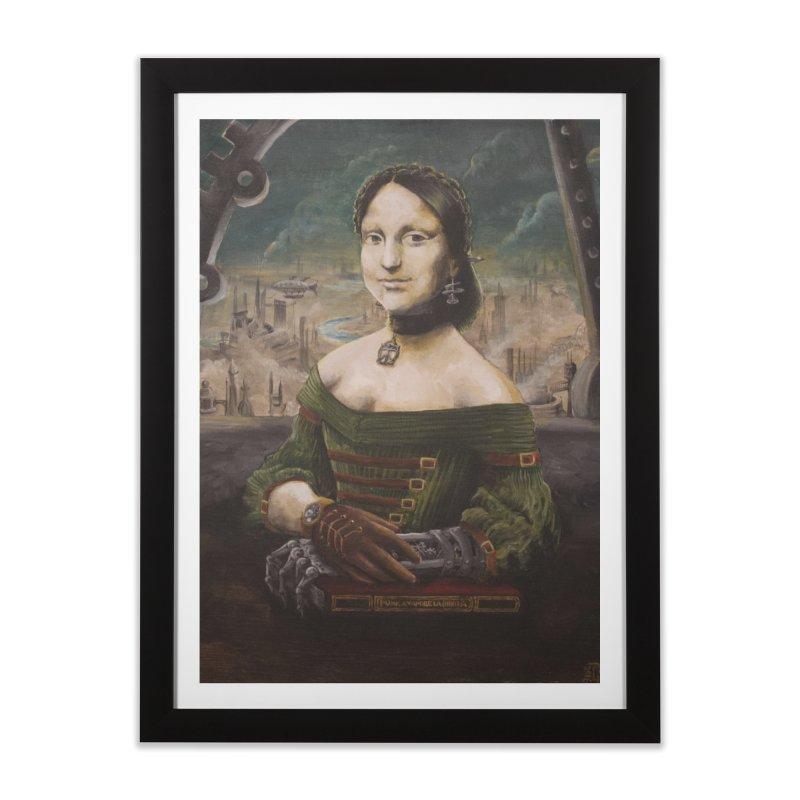 Skycaptain Mona Home Framed Fine Art Print by Yodagoddess' Artist Shop