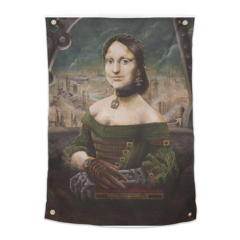 Skycaptain Mona Home Tapestry by Yodagoddess' Artist Shop