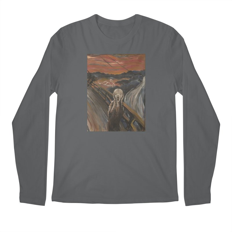 Screampunk Men's Regular Longsleeve T-Shirt by Yodagoddess' Artist Shop