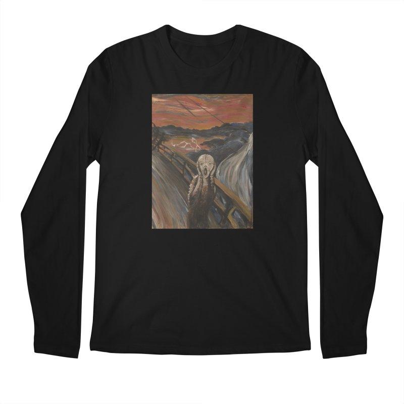 Screampunk Men's Regular Longsleeve T-Shirt by Yodagoddess' Artist Shop