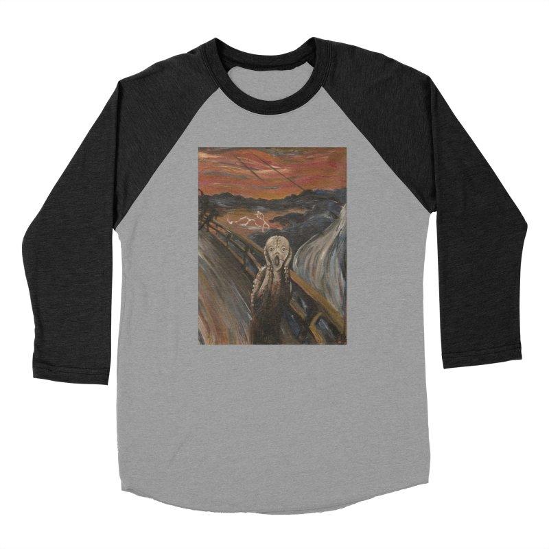 Screampunk Men's Baseball Triblend T-Shirt by Yodagoddess' Artist Shop