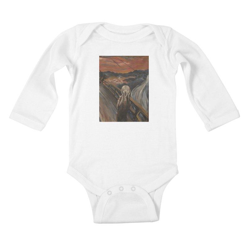 Screampunk Kids Baby Longsleeve Bodysuit by Yodagoddess' Artist Shop