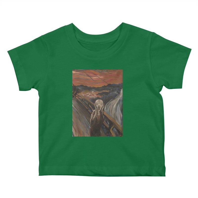 Screampunk Kids Baby T-Shirt by Yodagoddess' Artist Shop