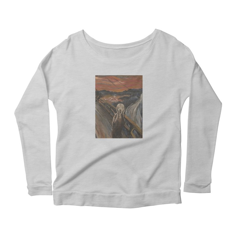 Screampunk Women's Scoop Neck Longsleeve T-Shirt by Yodagoddess' Artist Shop