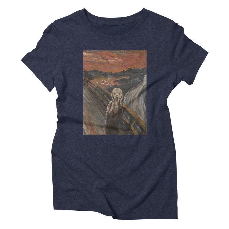Screampunk Women's Triblend T-Shirt by Yodagoddess' Artist Shop
