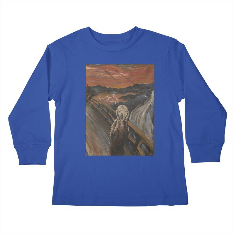 Screampunk Kids Longsleeve T-Shirt by Yodagoddess' Artist Shop
