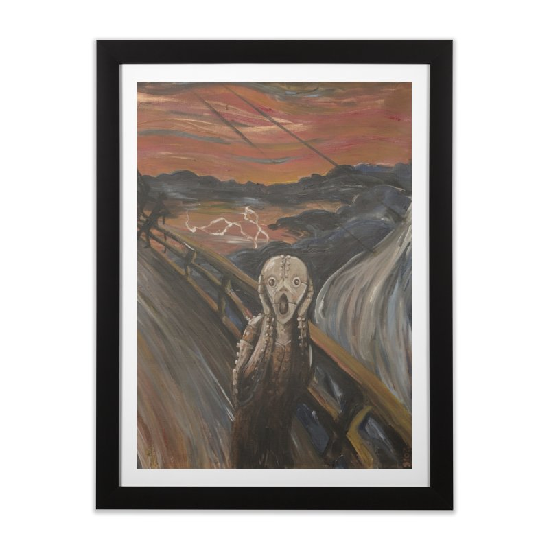Screampunk Home Framed Fine Art Print by Yodagoddess' Artist Shop