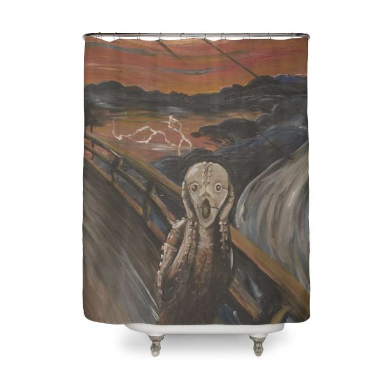 Screampunk Home Shower Curtain by Yodagoddess' Artist Shop