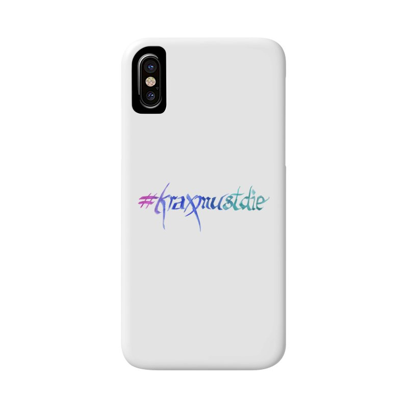 #kraxmustdie (cool colors) Accessories Phone Case by Yodagoddess' Artist Shop
