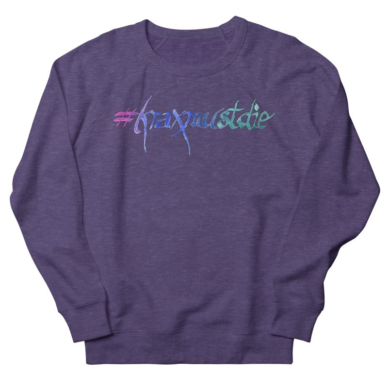hashtag outlined (cool colors) Women's Sweatshirt by Yodagoddess' Artist Shop