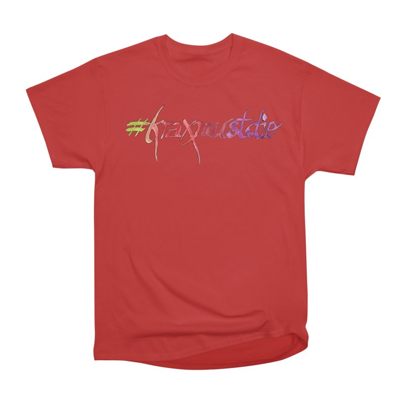 hashtag outlined (warm colors) Men's Heavyweight T-Shirt by Yodagoddess' Artist Shop