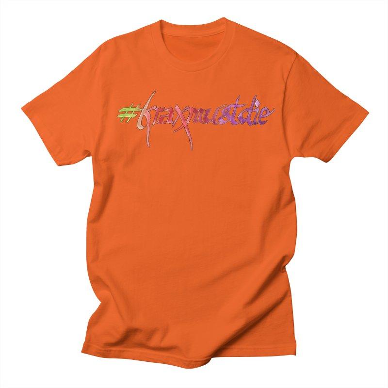 hashtag outlined (warm colors) Women's Regular Unisex T-Shirt by Yodagoddess' Artist Shop