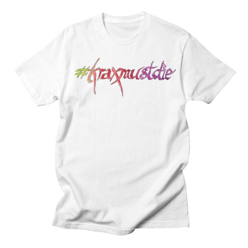 hashtag outlined (warm colors) Men's Regular T-Shirt by Yodagoddess' Artist Shop