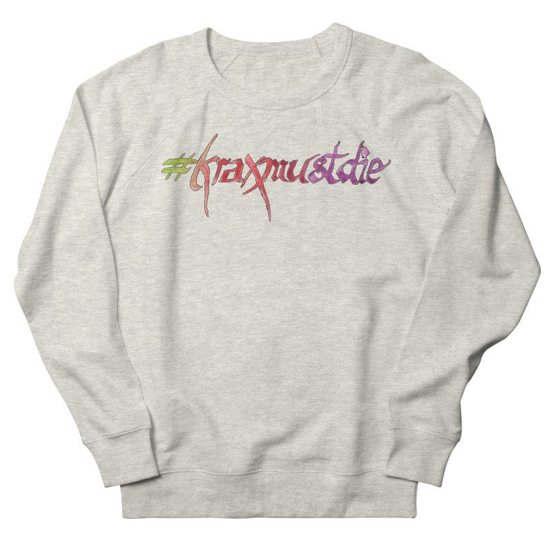 hashtag outlined (warm colors) Women's French Terry Sweatshirt by Yodagoddess' Artist Shop