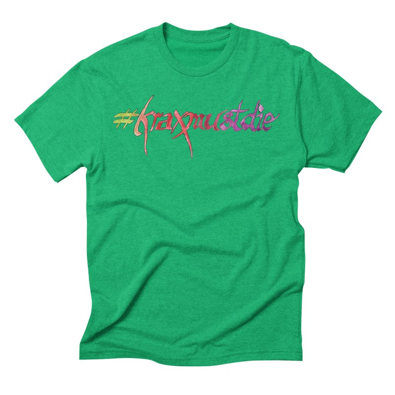 hashtag outlined (warm colors) Men's Triblend T-Shirt by Yodagoddess' Artist Shop