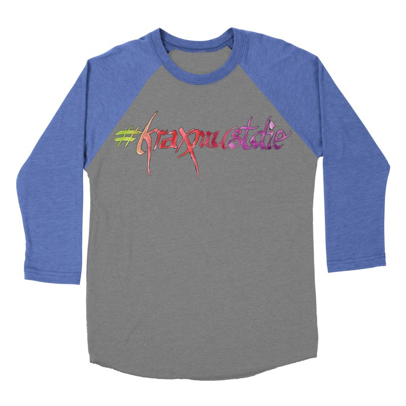 hashtag outlined (warm colors) Women's Baseball Triblend T-Shirt by Yodagoddess' Artist Shop