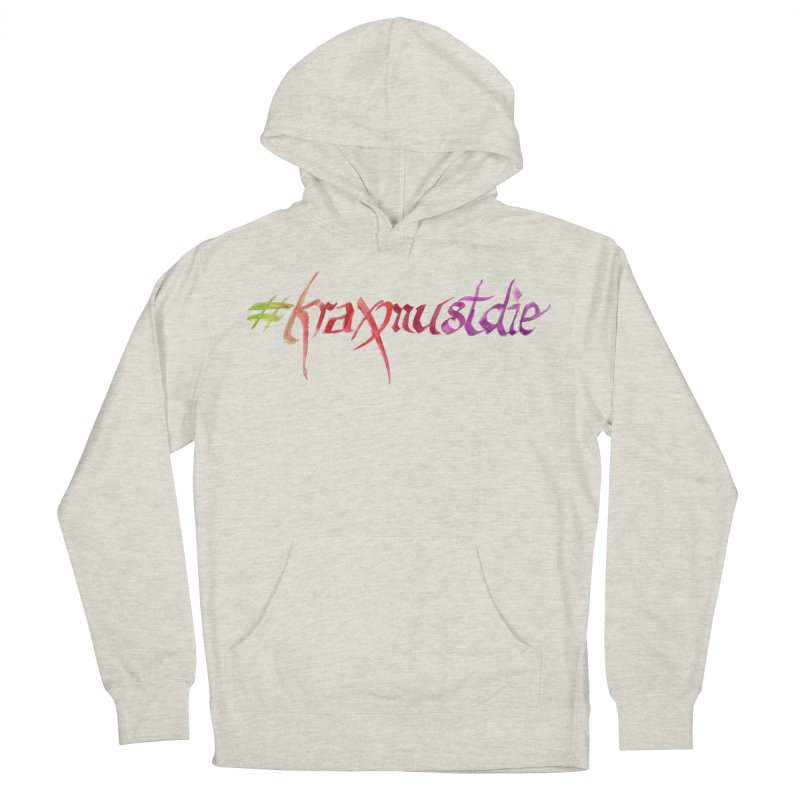 hashtag (warm colors) Women's French Terry Pullover Hoody by Yodagoddess' Artist Shop