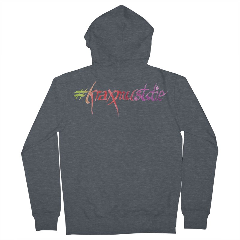 hashtag (warm colors) Women's French Terry Zip-Up Hoody by Yodagoddess' Artist Shop