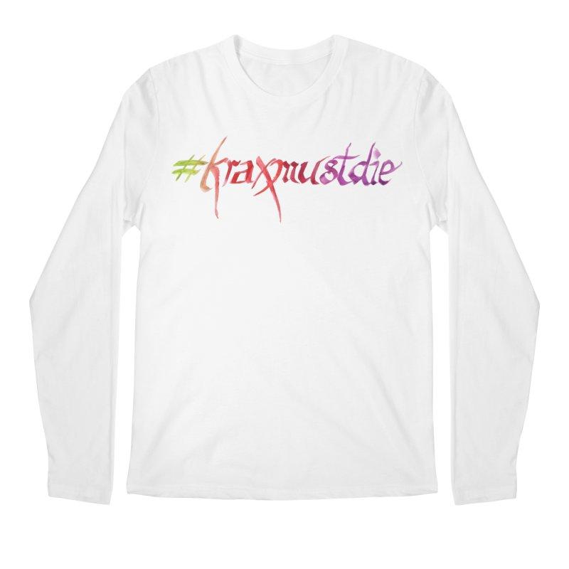 hashtag (warm colors) Men's Regular Longsleeve T-Shirt by Yodagoddess' Artist Shop
