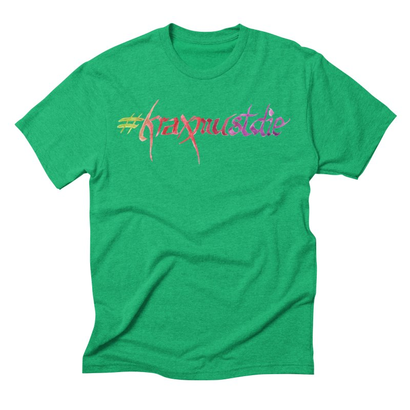 hashtag (warm colors) Men's Triblend T-Shirt by Yodagoddess' Artist Shop