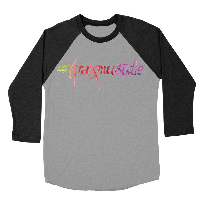 hashtag (warm colors) Women's Baseball Triblend Longsleeve T-Shirt by Yodagoddess' Artist Shop