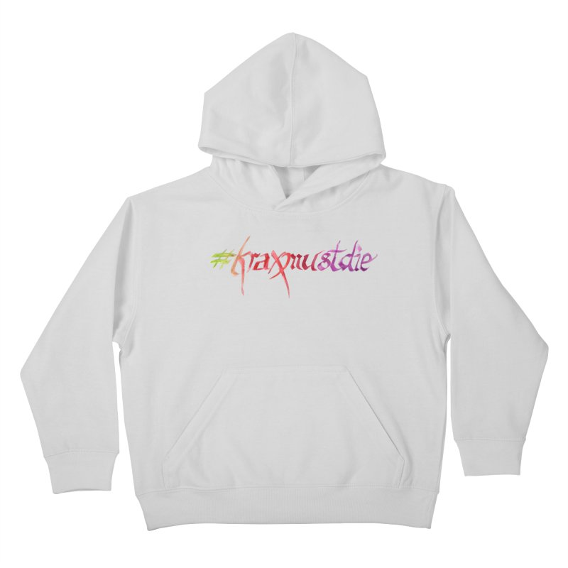 hashtag (warm colors) Kids Pullover Hoody by Yodagoddess' Artist Shop