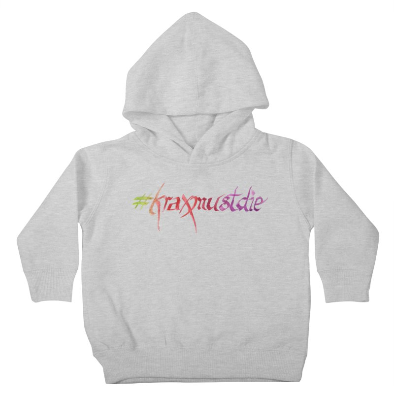 hashtag (warm colors) Kids Toddler Pullover Hoody by Yodagoddess' Artist Shop