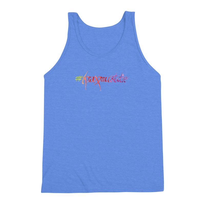 hashtag (warm colors) Men's Triblend Tank by Yodagoddess' Artist Shop