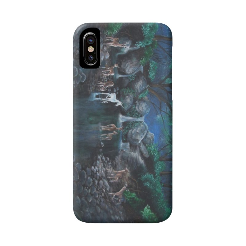 Unicorn Grotto Accessories Phone Case by Yodagoddess' Artist Shop