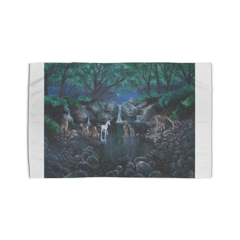 Unicorn Grotto Home Rug by Yodagoddess' Artist Shop