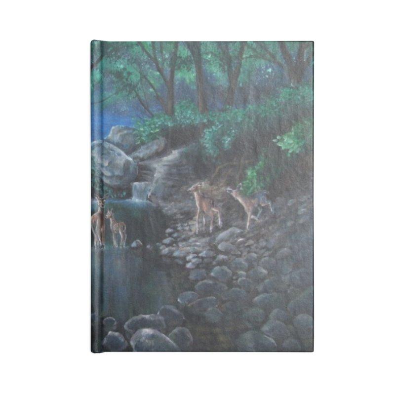 Unicorn Grotto Accessories Notebook by Yodagoddess' Artist Shop