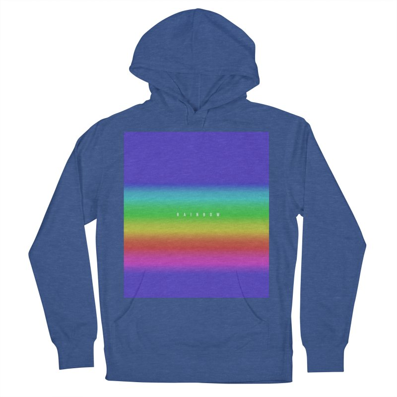 rainbow Women's Pullover Hoody by omelette