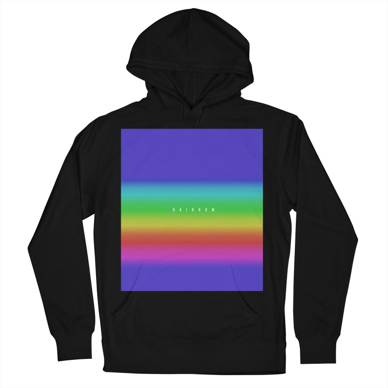 rainbow Men's Pullover Hoody by omelette