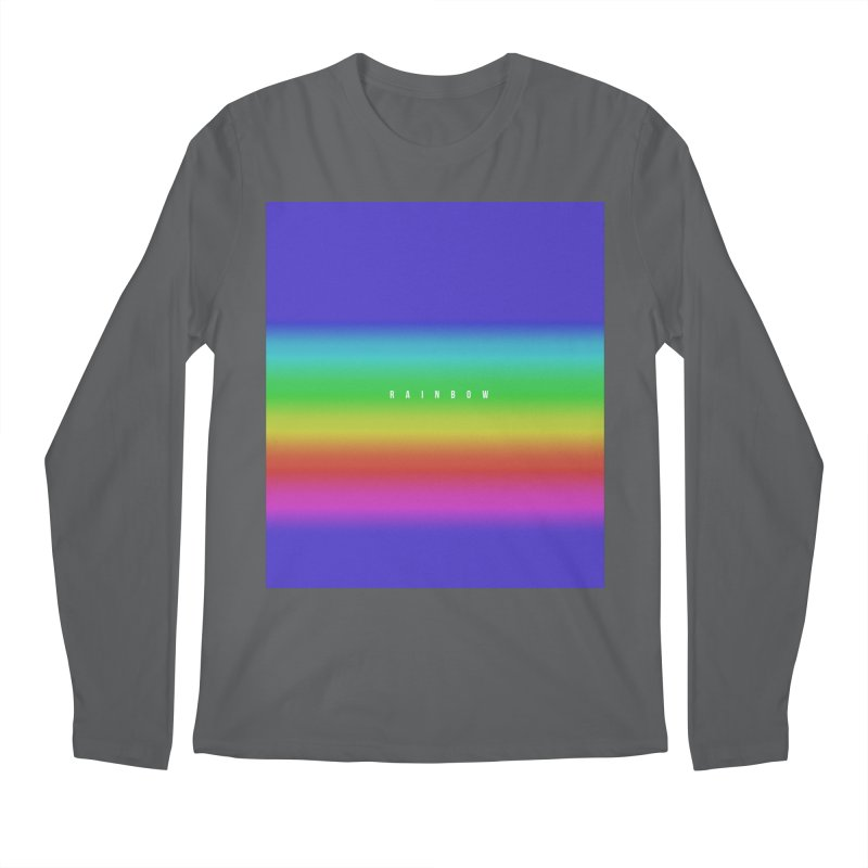 rainbow Men's Longsleeve T-Shirt by omelette