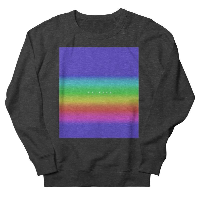 rainbow Men's Sweatshirt by omelette