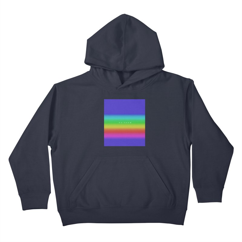 rainbow Kids Pullover Hoody by omelette