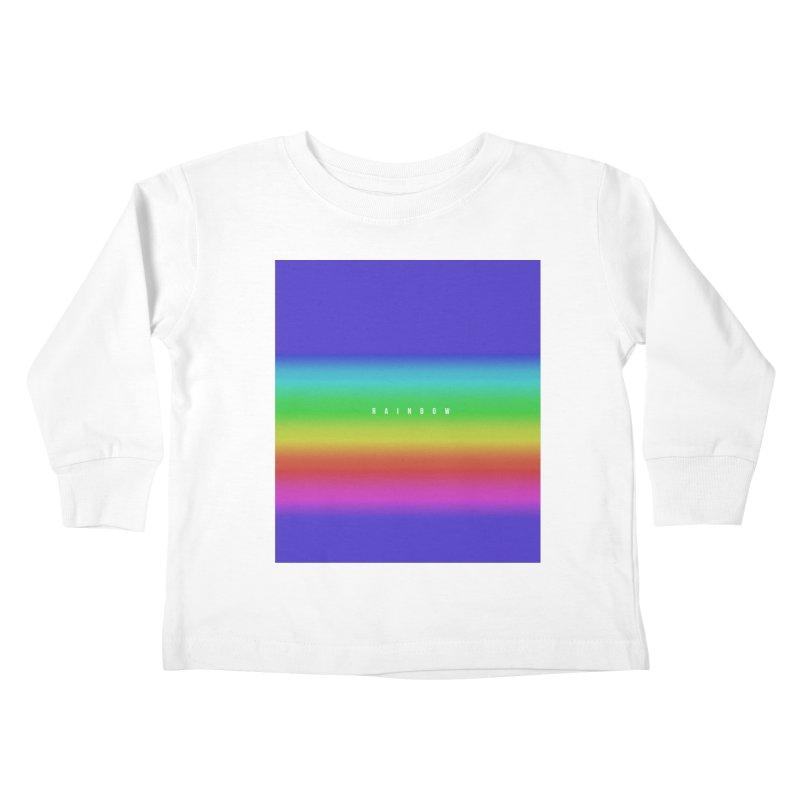 rainbow Kids Toddler Longsleeve T-Shirt by omelette