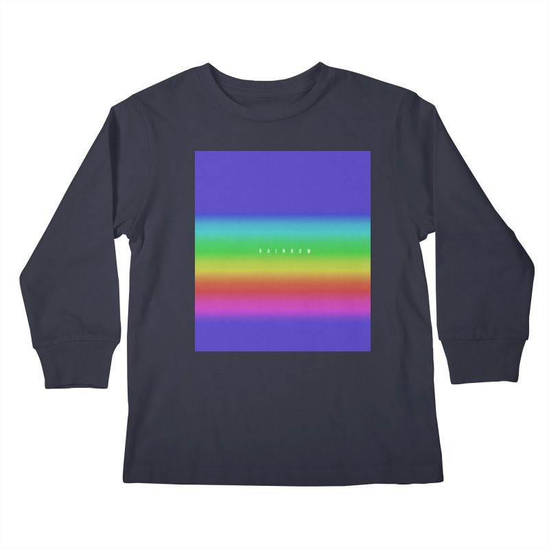rainbow Kids Longsleeve T-Shirt by omelette