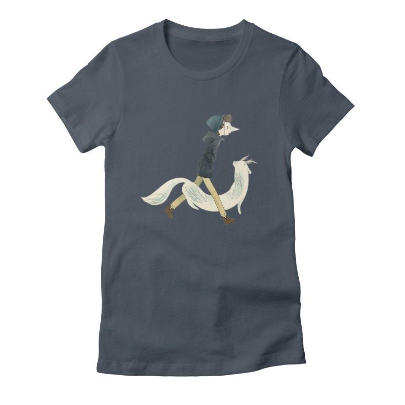 NEGA Women's Fitted T-Shirt by yohan sacré