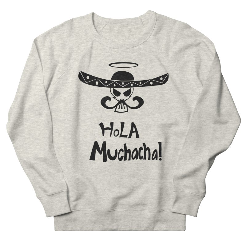 Marichi Hola! Men's French Terry Sweatshirt by POP COLOR BOT